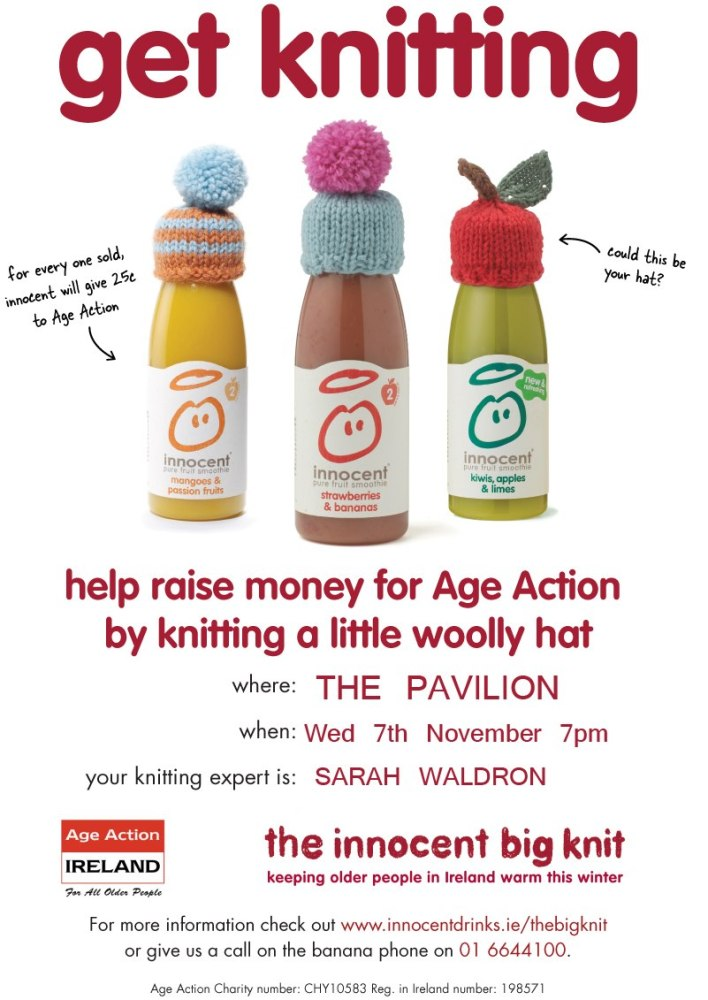 Cork City Knit Up for Innocent Smoothie's Big Knit (1/2)